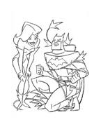 Batman da colorare 103