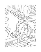 Batman da colorare 106