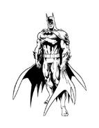 Batman da colorare 125