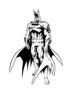 Batman da colorare 125