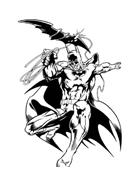 Batman da colorare 126