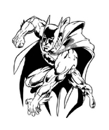 Batman da colorare 128