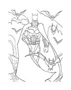 Batman da colorare 134