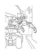 Batman da colorare 141