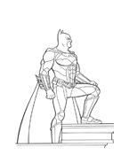 Batman da colorare 145