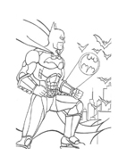 Batman da colorare 161