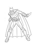 Batman da colorare 162