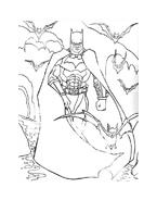 Batman da colorare 167
