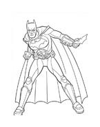 Batman da colorare 173