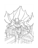 Batman da colorare 175