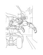 Batman da colorare 180
