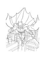 Batman da colorare 189