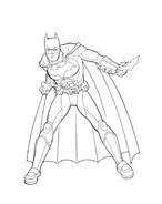 Batman da colorare 191
