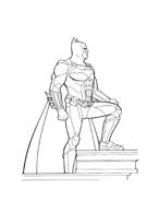 Batman da colorare 192