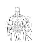 Batman da colorare 202