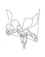 Batman da colorare 209