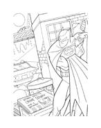 Batman da colorare 213