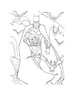 Batman da colorare 218