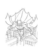 Batman da colorare 219