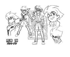 Battle spirits da colorare 10