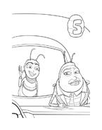 Bee movie da colorare 21