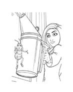Bee movie da colorare 42