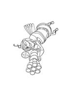 Bee movie da colorare 52