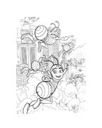 Bee movie da colorare 68