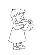 Basketball da colorare 4