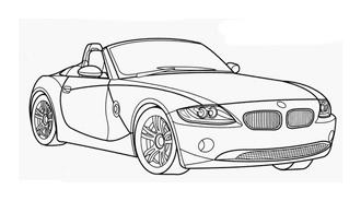 Automobile da colorare 85
