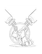 Bolt da colorare 2