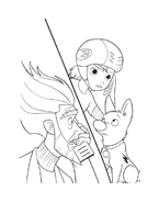 Bolt da colorare 4