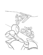 Bolt da colorare 5