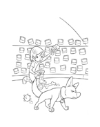 Bolt da colorare 9