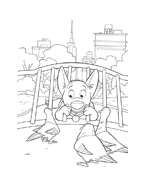 Bolt da colorare 13