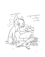 Bolt da colorare 14