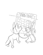 Bolt da colorare 16
