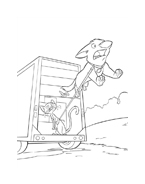 Bolt da colorare 18