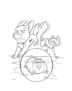 Bolt da colorare 24