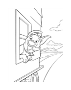 Bolt da colorare 25