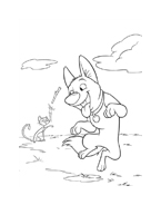 Bolt da colorare 26