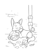 Bolt da colorare 29