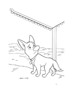 Bolt da colorare 31