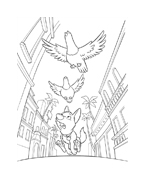Bolt da colorare 32