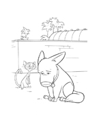 Bolt da colorare 36