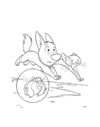 Bolt da colorare 38
