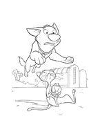 Bolt da colorare 39