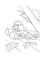 Bolt da colorare 41