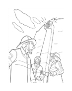 Bolt da colorare 43