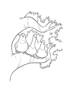 Bolt da colorare 45